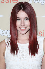 Jillian Rose Reed topped off her look with an edgy layered cut when she attended People's Ones to Watch party.