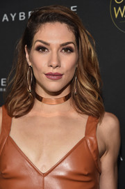 Allison Holker topped off her look with a feathery 'do when she attended the Ones to Watch event.