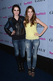 Laura Marano rocked a pair of washed-out, ripped jeans at the People StyleWatch Denim Awards.