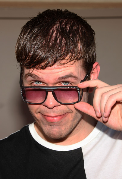 Perez Hilton Square Sunglasses
