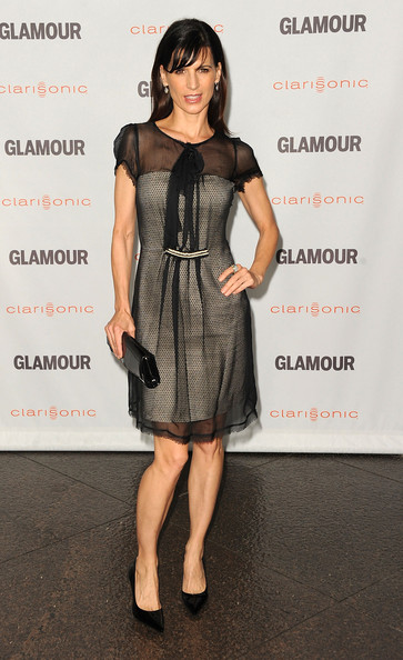 Perrey Reeves Patent Leather Clutch []