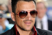 Peter Andre Aviator Sunglasses