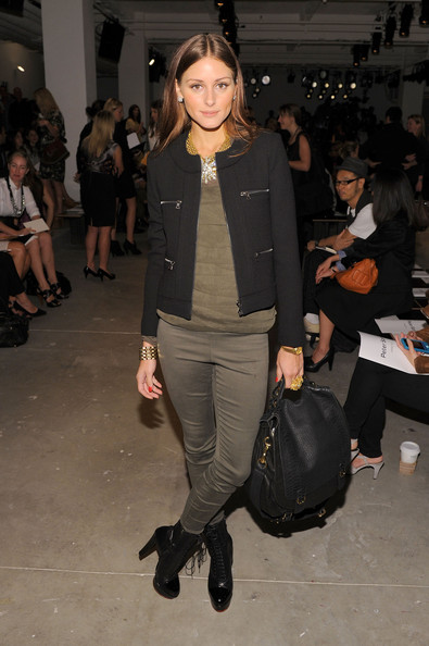 More Pics of Olivia Palermo Leather Messenger Bag (1 of 2) - Olivia Palermo Lookbook - StyleBistro