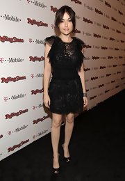 Sasha wore a frothy tulle LBD to the Rolling Stone Awards.