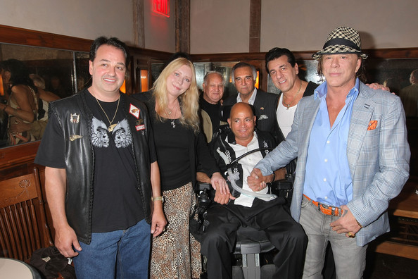 More Pics of Mickey Rourke Fedora (1 of 14) - Mickey Rourke Lookbook - StyleBistro