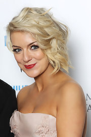 Sheridan Smith looked glamorous in a short wavy cut at the British Academy Television Awards.