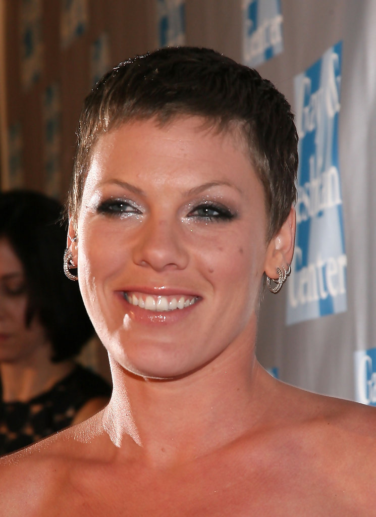 Pink Buzzcut Pink Short Hairstyles Looks Stylebistro