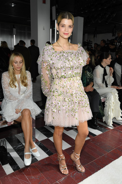 Pixie Geldof Embroidered Dress
