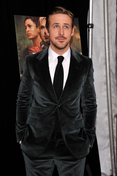More Pics of Ryan Gosling Men's Suit (1 of 14) - Men's Suit Lookbook - StyleBistro