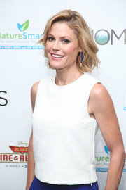 'Modern Family' star Julie Bowen looked stunning with this short messy cut.