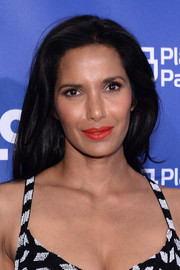 Padma Lakshmi wore her hair down in a high-volume, straight style at the Planned Parenthood 100th anniversary gala.