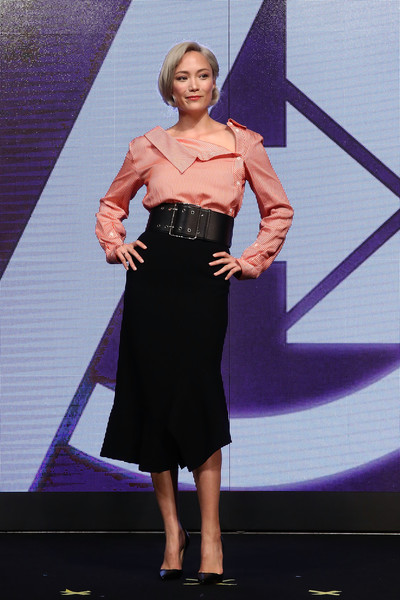 Pom Klementieff Knee Length Skirt