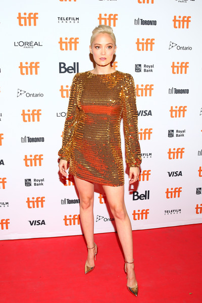 Pom Klementieff Sequin Dress