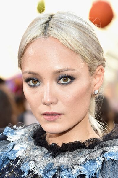 Pom Klementieff Long Braided Hairstyle