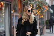 Poppy Delevingne Leather Tote