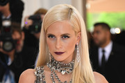 Poppy Delevingne Long Straight Cut