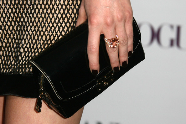 Portia Doubleday Leather Clutch