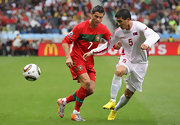 """Cristiano Ronaldo donned these new """"World Cup boots"""" by Nike."""