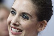 Alison Brie Jewel Tone Eyeshadow