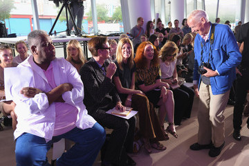 Andre Leon Talley Grace Coddington Prabal Gurung - Front Row - Spring 2012 Mercedes-Benz Fashion Week