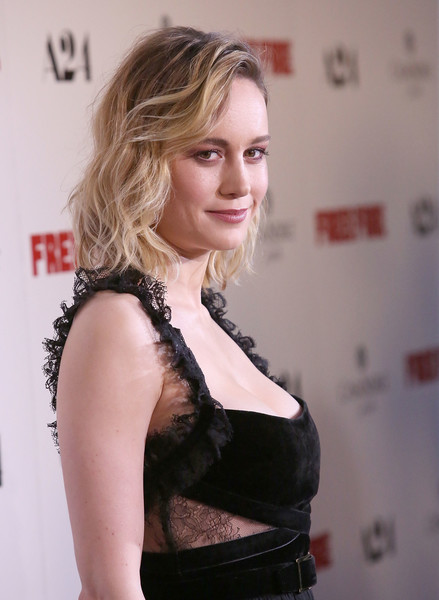 More Pics of Brie Larson Medium Wavy Cut (1 of 27) - Shoulder Length Hairstyles Lookbook - StyleBistro