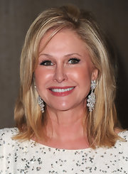 Kathy Hilton wore a high-volume straight 'do at 'The Real Housewives of Beverly Hills' party.