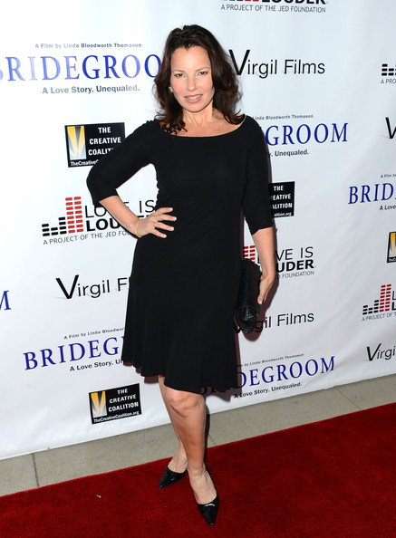 More Pics of Fran Drescher Little Black Dress (1 of 15) - Little Black Dress Lookbook - StyleBistro