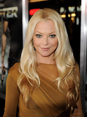 Charlotte Ross rocked her two-tone tresses while attending the premiere of 'Faster'.
