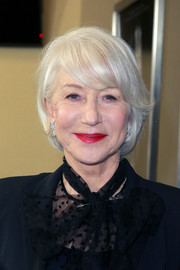 Helen Mirren sported a bob with flippy bangs at the premiere of 'Winchester.'