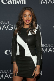 La La Anthony looked super stylish in a black-and-white leather dress by Iro at the Project Imaginat10n Film Festival.