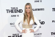 Carmen Electra attends the premiere of Columbia Pictures' 'This Is The End' at the Regency Village Theatre on June 3, 2013 in Westwood, California.