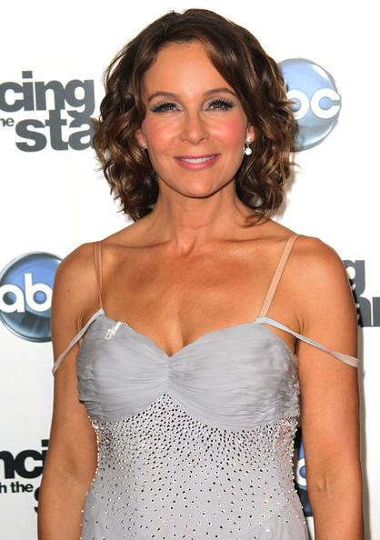 Jennifer Grey's Curly Ringlets