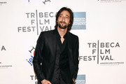 Actor Adrien Brody attends the premiere of