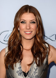 Kate Walsh swiped on some pink lip color to give her pout a spot of color.