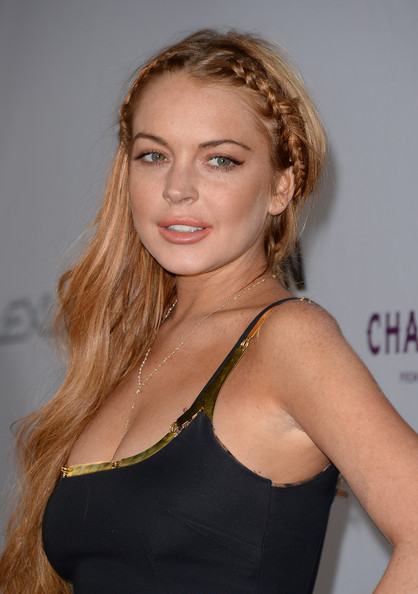 More Pics of Lindsay Lohan Little Black Dress (1 of 82) - Lindsay Lohan Lookbook - StyleBistro