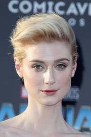 Elizabeth Debicki looked super cool with her windblown fauxhawk at the premiere of 'Guardians of the Galaxy Vol. 2.'