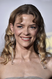 Jaime King made a bold statement with those ultra-long earrings.