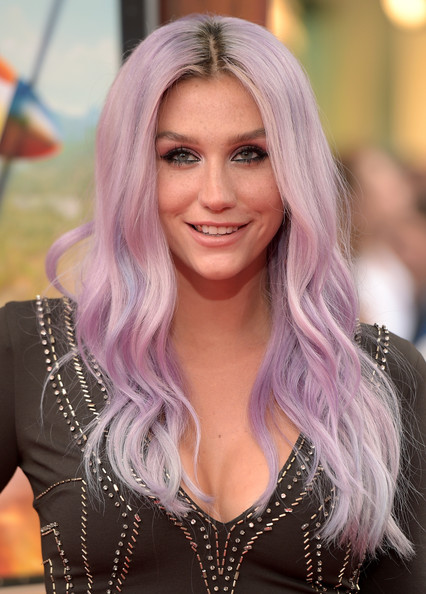 Kesha's Lavender Locks