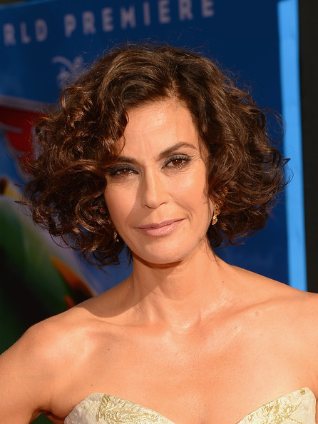 More Pics of Teri Hatcher Short Curls (1 of 26) - Short Curls Lookbook - StyleBistro