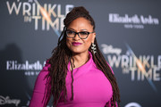 Ava DuVernay attended the premiere of 'A Wrinkle in Time' rocking her signature dreadlocks.