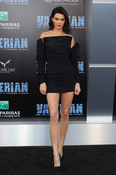 In Carmen March At The 'Valerian and the City of a Thousand Planets' Premiere
