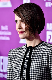 Sarah Paulson stayed classic with this bob at the premiere of 'Feud: Bette and Joan.'