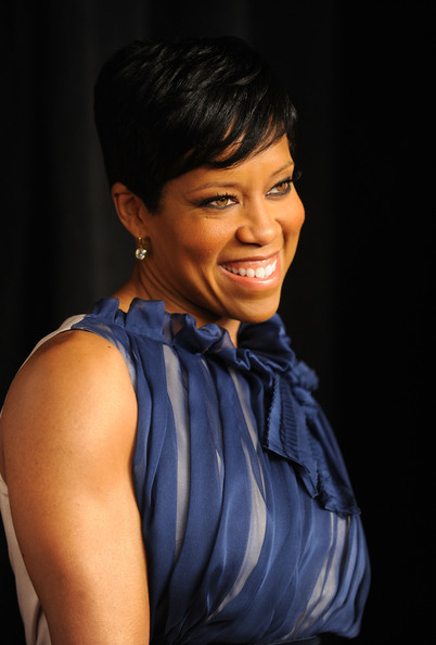More Pics Of Regina King Side Parted Straight Cut 6 Of 8 Short