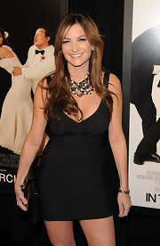The tiny black bandage dress Beth Shak wore to the premiere of 'Our Family Wedding' was one sultry number indeed!