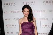 Actress Michelle Monaghan arrives at Focus Features'