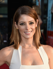 Ashley Greene kept it modern with this shoulder-length layered cut at the premiere of 'Wish I Was Here.'