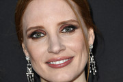 Jessica Chastain Metallic Eyeshadow