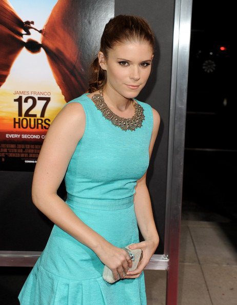 More Pics of Kate Mara Silver Statement Necklace (1 of 50) - Kate Mara Lookbook - StyleBistro