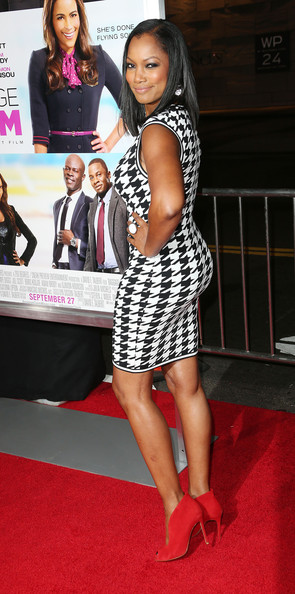 More Pics of Garcelle Beauvais Medium Straight Cut (1 of 5) - Medium Straight Cut Lookbook - StyleBistro