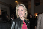 Actress Sharon Stone arrives to the premiere of the HBO documentary